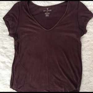 American Eagle Outfitters Tops - American Eagle soft and sexy ribbed tee